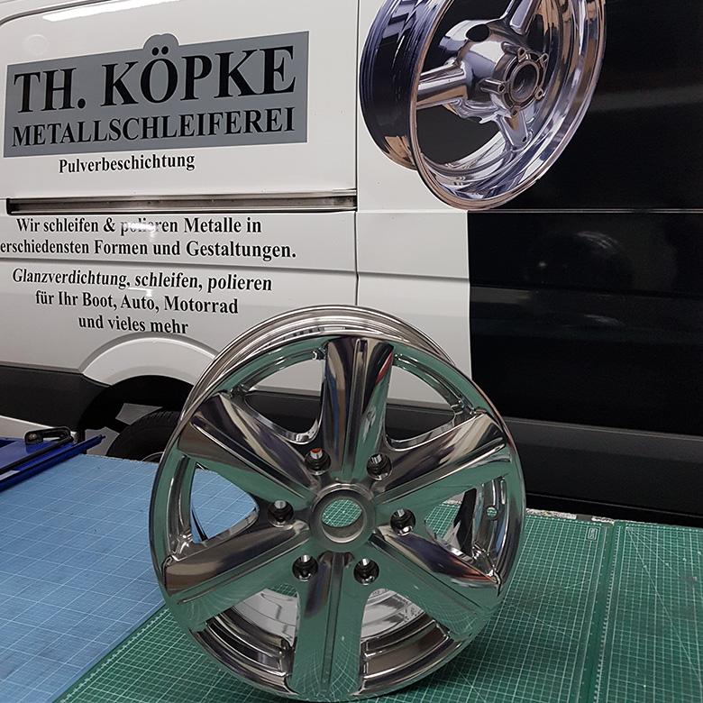 Köpke Metallschleiferei - Felge